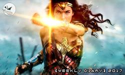 【週記】2017 – 23:《加勒比海盜 神鬼奇航:死無對證》與《神力女超人》,暴雨,《獨角獸查理》第四集,與食記