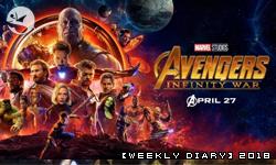 【週記】2018 – 17:《復仇者聯盟3:無限之戰》,《終極殺陣5》,與食記