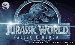 【週記】2018 – 23:六小時會議,與《侏儸紀世界:殞落國度》